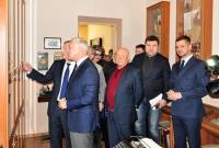 Відкриття кабінету-музею Бокаріуса М. С.