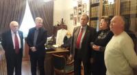 Ділова зустріч з Соколом Є.І. та Потапенко В.І.