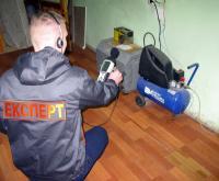 Експерти ХНДІСЕ проводять дослідження щодо визначення рівня шумового навантаження та забруднення.