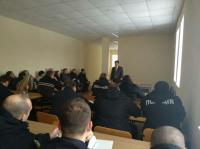 Практичні заняття з співробітниками поліції