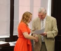 Співробітників ХНДІСЕ нагороджено почесними грамотами та подяками