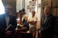 До Харківського НДІСЕ завітав нащадок засновника ХНДІСЕ