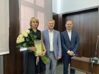 Вітаємо Світлану Олександрівну Андренко!