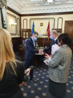 12 листопада відбулося вручення державних нагород Головою Харківської обласної державної адміністрації