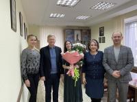 Вітаємо Інну Володимирівну Сабадаш!