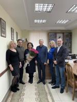 Вітаємо Еллу Борисівну Сімакову-Єфремян!